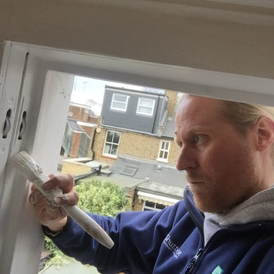 Refurbishing sash windows