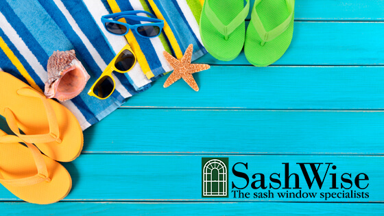 SashWise beach logo