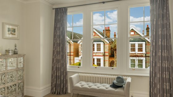 Sash Windows from Inside the home