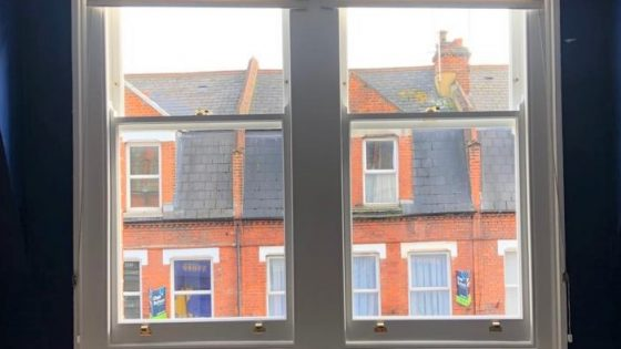 8b Richmond Parade – New double glazed sashes