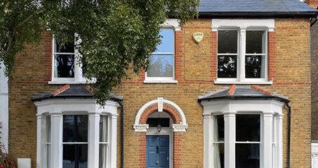 Double glazed sash windows, Teddington